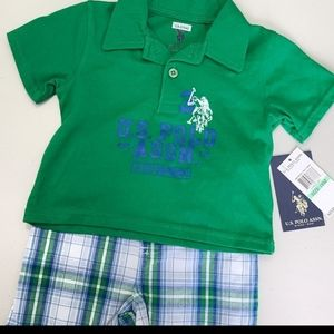 U.S. Polo Assn. 2pc shorts set